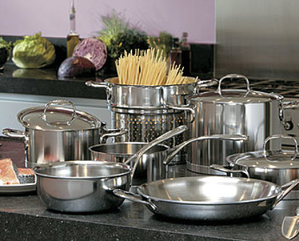Demeyere stainless steel cookware