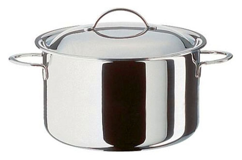 Cristal Deep casserole with lid