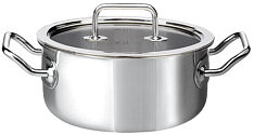 Brigade Premium Casserole with glass lid