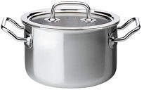 Brigade Premium Deep casserole with glass lid