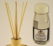 Replacement set for room scent diffuser 150 ml, 7 rattan rods