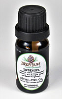 Bottle with 10 ml natural swiss pine oil