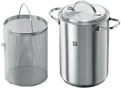 Twin Specials pasta and asparagus pot, stainless steel