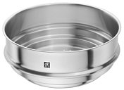 Zwilling Plus steamer stainless steel, without handles
