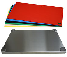 Set Top Board stainless steel GN 1/1, 6 coloured layers