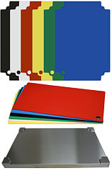 Set Top Board stainless steel GN 1/1, 6 coloured layers each
