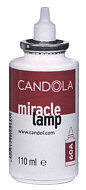 Lamp oil replacement cartridge for Candola lamps, serie  A