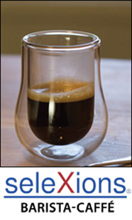 Selexions Barista Coffee glasses