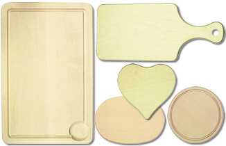 Kitchen boards and cutting boards